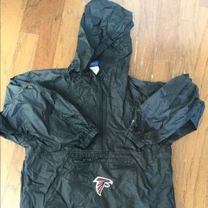 Youth Falcons NFL rain pullover